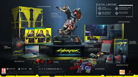 Cyberpunk 2077 - Collectors Edition (PS4)