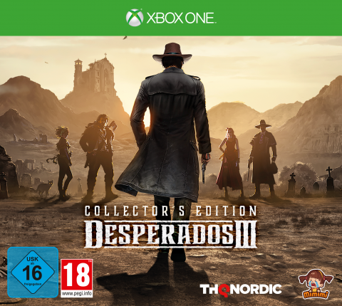 Desperados III - Collector's Edition (Xbox One)