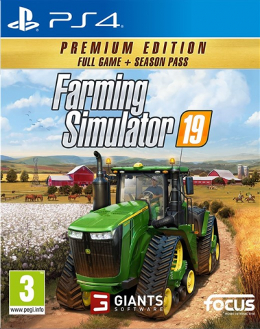Farming Simulator 19 - Premium Edition (PS4)