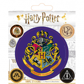 HARRY POTTER (HOGWARTS) VINYL NALEPKE PYRAMID