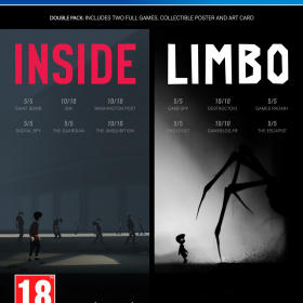 Inside / Limbo double pack (playstation 4)