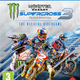 Monster Energy Supercross: The Official Videogame 3 (PS4)