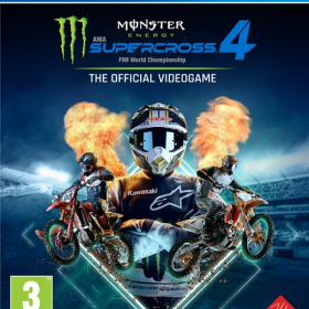 Monster Energy Supercross: The Official Videogame 4 (PC)