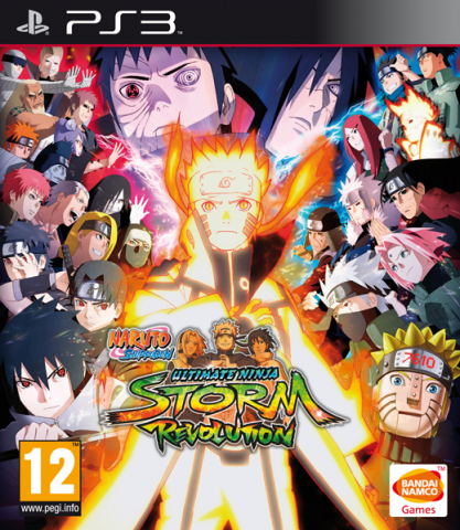 Naruto Shippuden: Ultimate Ninja Storm Revolution (playstation 3)