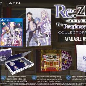 Re:ZERO - Starting Life in Another World: The Prophecy of the Throne - Collector's Edition (PS4)