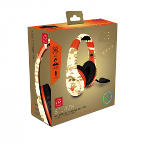 SLUŠALKE STEALTH WARRIOR STEREO GAMING HEADSET MULTIFORMAT