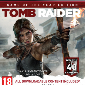 Tomb Raider Game of the Year Edition (playstation 3)